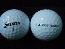 """20 SRIXON """"AD333 TOUR"""" - Golf Balls - """"PEARL/A"""" Grades."""