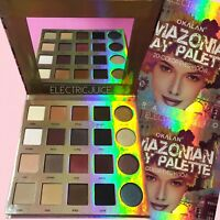 Okalan Amazonian Clay Palette 20 Colors Mattes Shimmers Eyes Eyeshadow Dupe