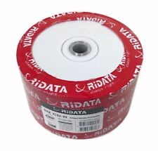 500 RIDATA 52X Blank CD-R White Inkjet Printable 700MB Disc FREE PRIORITY MAIL