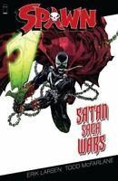 Spawn Satan Saga Wars TPB by Todd McFarlane, Erik Larsen 9781632158079 NEW IMAGE
