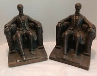 Vintage Austin Products Abraham Lincoln Bookends