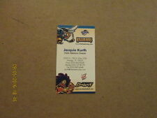 CHL Killer Bees Vintage Defunct Logo Hockey Business Card