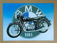 BMW R69S - Tin Metal Wall Sign