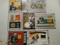 PAUL HORNUNG AUTHENTIC GAME WORN FABRIC CARD COLLECTION 7 TOTAL CARDS