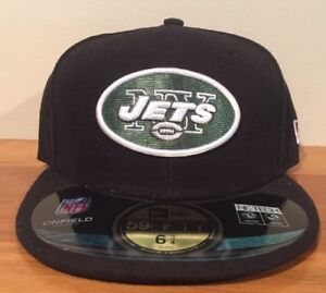 New York Jets New Era NFL Youth On Field 59FIFTY Fitted Cap Hat 6 3/4