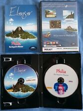 Elansar & Philia : 2 new Point & Click Adventure games Dreamcast & PC NEW SEALED