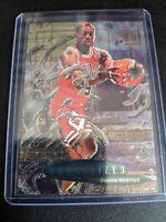 1996-97 Fleer Metal Dennis Rodman Metalized Insert #231 Chicago Bulls Last Dance