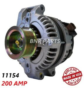 200 Amp 11154 Alternator Acura RDX 2.3 2007-2012 NEW High Output HD Performance