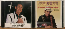 Jim Owen/Owens 2 cd It's The Gospel Truth/He Stopped Loving Her Today
