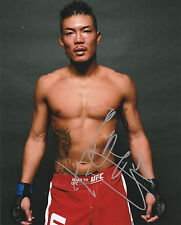 TERUTO ISHIHARA SIGNED AUTO'D 8X10 PHOTO UFC 196 FIGHT NIGHTROAD TO JAPAN A