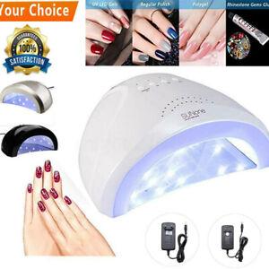 Séchoir à Ongles 48W Portable Gel Lampe UV LED Outil de Manucure Séchoir de Gel
