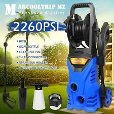Electric Pressure Washer 2260 PSI/156 BAR Water High Power Jet Wash Patio Car
