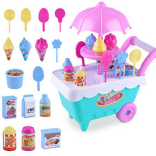 Kids Ice Cream Candy Cart Shop Toy Pretend Play Role Play Toy Gift