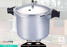 Large Pressure Cooker 25 Ltr Kitchen King Cooking Cooker Aluminium Hard Anodized