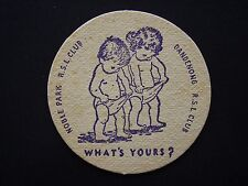 NOBLE PARK RSL CLUB DANDENONG RSL CLUB WHAT'S YOURS? COASTER