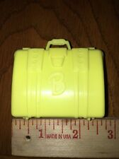 Barbie Yellow B Logo Suit Case Luggage Travel Accessory Bratz Liv Moxie