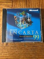 Microsoft Encarta 1999 PC Cd
