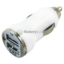 Universal Dual 2 Port Car Charger 2.1 Amp for Apple iPhone / Android Cell Phone
