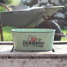 Farmers Orgullo Ovalada Olla Farm Imprimir Maceta Hierbas Cocina Jardín Ventana