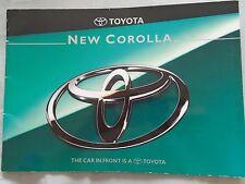 Toyota Corolla brochure Jul 1995