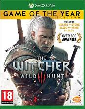 The Witcher 3 Wild Hunt - Game of the Year Edition Xbox One XB1 - NEW & SEALED