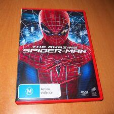 THE AMAZING SPIDER-MAN ( 2012 DVD REGION 4 )  ANDREW GARFIELD , EMMA STONE