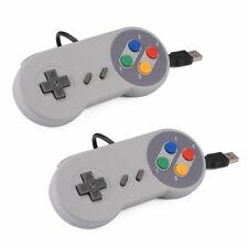 XCSOURCE 2pcs SNES classico USB Super Game Controller Gamepad per PC, MAC AC560
