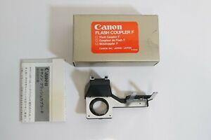 (S) Canon Flash Coupler F