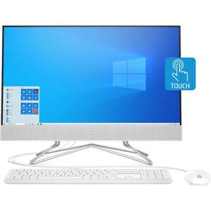 """Hewlett Packard 23.8"""" Full HD AMD Athlon 3050U 4GB All-in-One Desktop Computer 2"""