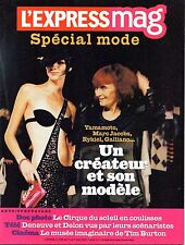 Mag 2004 SPECIAL MODE_SONIA RYKIEL_TOM FORD_MARC JACOBS_TIM BURTON_EDDY MITCHELL