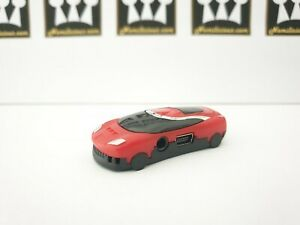 Mini car sports fast MP3 player in RED with accessories - Great for kids