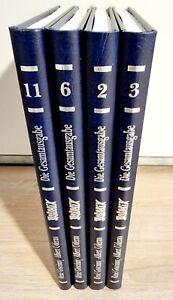 4x Asterix Gesamtausgabe Band 2,3,6,11 NEU & UNGELESEN Egmont Verlag Kunstleder