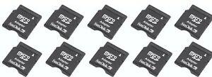 SanDisk MicroSD to MiniSD Adapter, Pack of 10