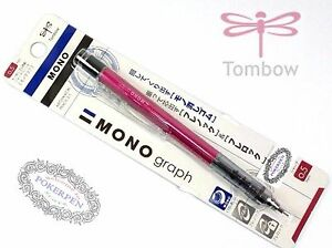 Tombow MONO Graph mechanical pencil SH-MG Series 0.5mm ROES PINK barrel