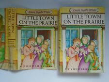 Little Town on the Prairie, Laura Ingalls Wilder, Garth Williams, DJ, 1970s