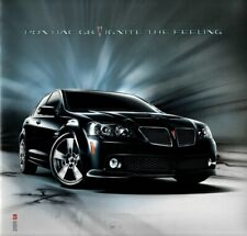 Holden VE Commodore Pontiac G8 Export brochure Canada