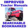 Case IH Magnum Tractors 7110 7120 7130 7140 Workshop Service Repair Manual CD