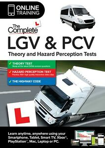 The Complete LGV & PCV Theory & Haz & Driver CPC Case Study Tests (Online Sub)