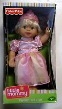 Fisher Price Little Mommy Sweet As Me Pink Princess Blonde Baby Doll Tiara NEW
