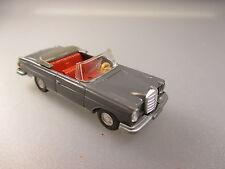 Wiking: MERCEDES BENZ 280se cabriolet, basaltgrau (1w)