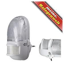 LED Nacht-Licht mit Bewegungsmelder (5-6m) Treppen-Leuchte Steckdosen-Lampe