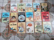 Lot Tintin 16 BD 1950/1960  BDM 1 À BDM 24
