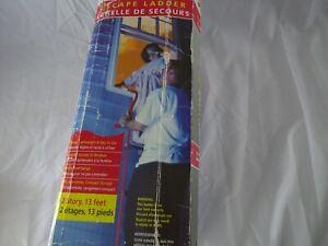 Portable Fire Escape Ladder 2 Stories 13 Feet Kidde 368089 Never Unpacked In Box