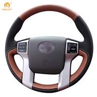 Steering Wheel Cover for Toyota Land Cruiser Prado Tundra Tacoma 4Runner #0468