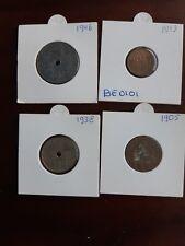 Belgium old coin lot