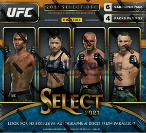 2021 PANINI SELECT UFC HOBBY HYBRID H2 SEALED BOX NEW FAST EXPRESS POST IN STOCK