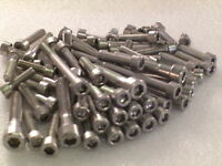 Alfa Romeo V6 Engine 98x Stainless Steel Allen Screw Kit DIN912 incl M7, washers