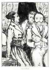 Beatrix-Émilien Dufour a Balzac - 2 originalradierungen 1931 (de Rochefide)