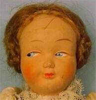 German Germany Celluloid Doll Lady Girl Provincial Folk Costume Vintage