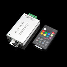 Music Control RF Audio RGB LED Controller 12A with Wireless Remote Joli